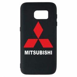 Чехол для Samsung S7 MITSUBISHI - FatLine