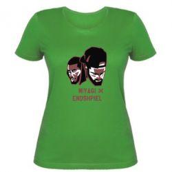 Женская футболка Miyagi X Endshpiel