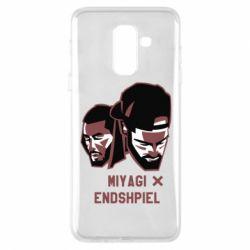 Купить Rap, Чехол для Samsung A6+ 2018 Miyagi X Endshpiel, FatLine