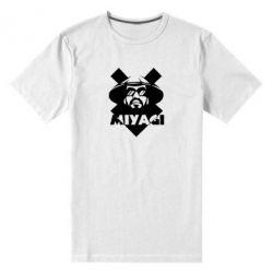 Мужская стрейчевая футболка Miyagi