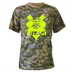Камуфляжная футболка Miyagi