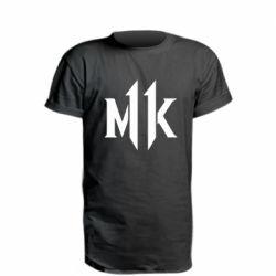 Подовжена футболка Mk 11 logo