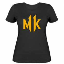 Жіноча футболка Mk 11 logo