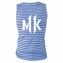Майка-тільняшка Mk 11 logo