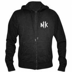 Чоловіча толстовка на блискавці Mk 11 logo