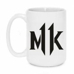 Кружка 420ml Mk 11 logo