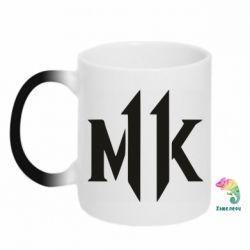 Кружка-хамелеон Mk 11 logo