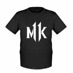 Дитяча футболка Mk 11 logo