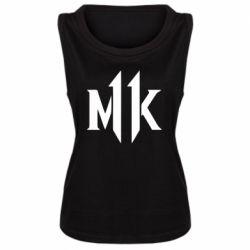 Майка жіноча Mk 11 logo