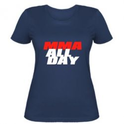 Женская футболка MMA All day