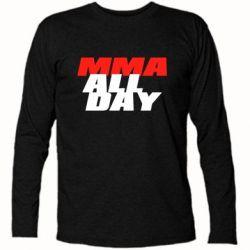 Футболка с длинным рукавом MMA All day