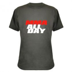 Камуфляжная футболка MMA All day
