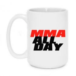 Кружка 420ml MMA All day
