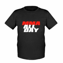 Дитяча футболка MMA All day