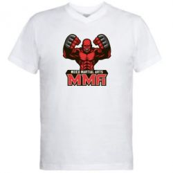 Мужская футболка  с V-образным вырезом MMA Fighter 2
