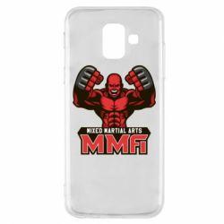 Чохол для Samsung A6 2018 MMA Fighter 2