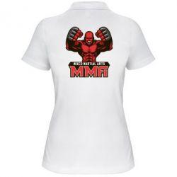 Женская футболка поло MMA Fighter 2 - FatLine