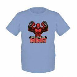 Детская футболка MMA Fighter 2 - FatLine