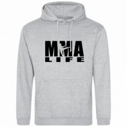 Мужская толстовка MMA Life - FatLine