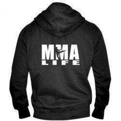 Мужская толстовка на молнии MMA Life - FatLine