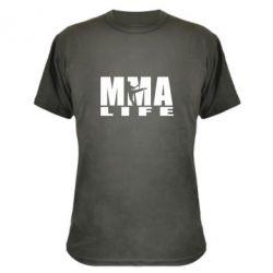 Камуфляжная футболка MMA Life - FatLine