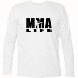 Футболка с длинным рукавом MMA Life - FatLine