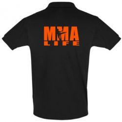 Футболка Поло MMA Life - FatLine