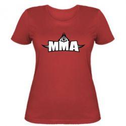 Женская футболка MMA Pattern