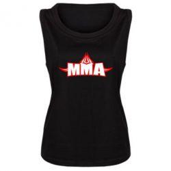 Женская майка MMA Pattern - FatLine