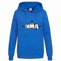 Женская толстовка MMA Pattern - FatLine