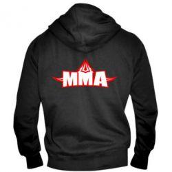 Мужская толстовка на молнии MMA Pattern - FatLine
