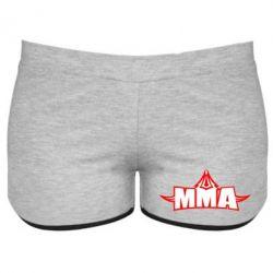 Женские шорты MMA Pattern - FatLine
