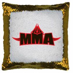 Подушка-хамелеон MMA Pattern