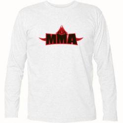 Футболка с длинным рукавом MMA Pattern - FatLine