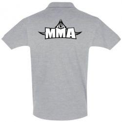 Футболка Поло MMA Pattern