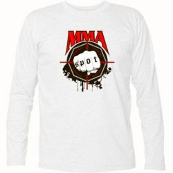 Футболка с длинным рукавом MMA Spot
