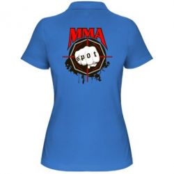 Женская футболка поло MMA Spot