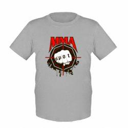 Детская футболка MMA Spot - FatLine