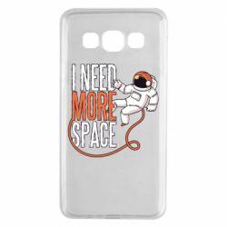 Чехол для Samsung A3 2015 Мне нужно больше космоса