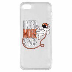 Чехол для iPhone5/5S/SE Мне нужно больше космоса