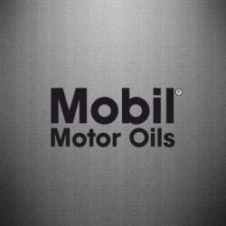 Наклейка Mobil Motor Oils - FatLine