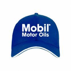 кепка Mobil Motor Oils