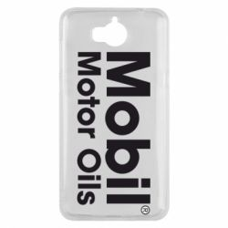 Чехол для Huawei Y5 2017 Mobil Motor Oils - FatLine