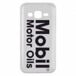 Чехол для Samsung J2 2015 Mobil Motor Oils - FatLine