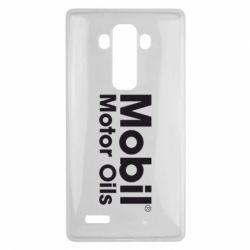 Чехол для LG G4 Mobil Motor Oils - FatLine