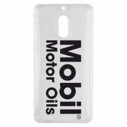 Чехол для Nokia 6 Mobil Motor Oils - FatLine