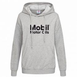 Женская толстовка Mobil Motor Oils - FatLine