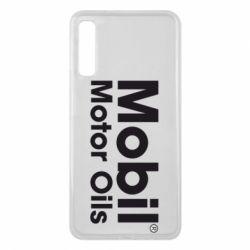 Чехол для Samsung A7 2018 Mobil Motor Oils