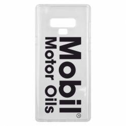 Чехол для Samsung Note 9 Mobil Motor Oils - FatLine