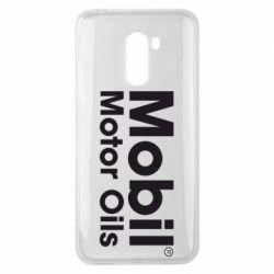 Чехол для Xiaomi Pocophone F1 Mobil Motor Oils - FatLine